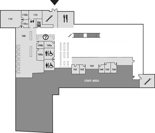 Christopher Center Library Services Building Floorplans