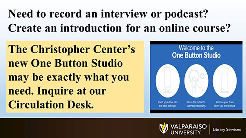 Click here for more information about the One Button Studio